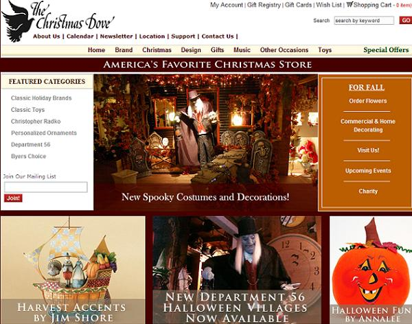 The Christmas Dove Website